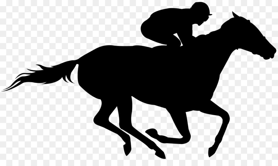 Kentucky derby horses in a row clipart jpg transparent library Huge Collection of \'Kentucky derby silhouette\'. Download more than ... jpg transparent library