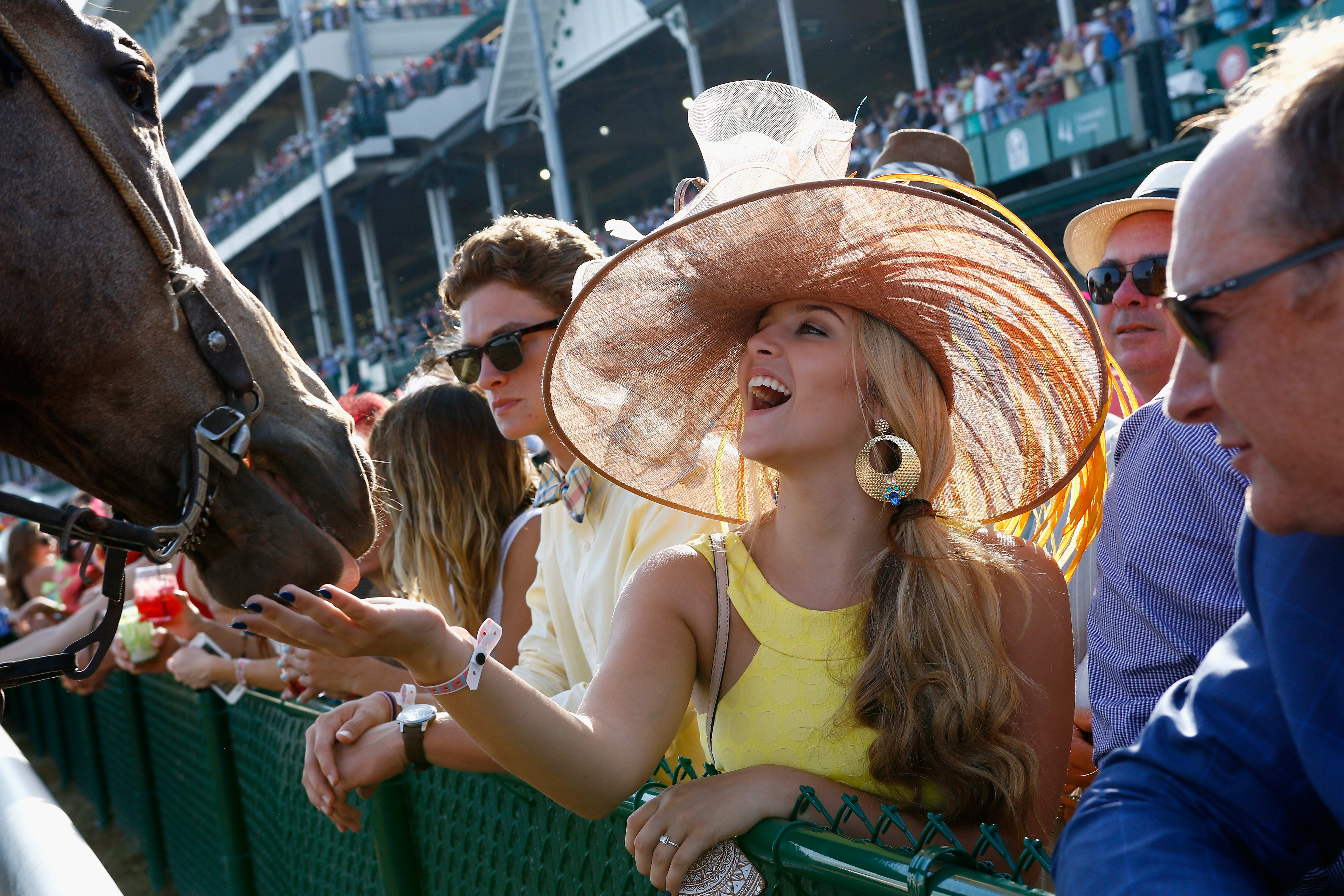 Kentucky derby horses in a row clipart free How the super rich experience the Kentucky Derby free