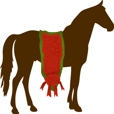 Kentucky derby horses in a row clipart png royalty free library A Visual Guide to the Kentucky Derby png royalty free library