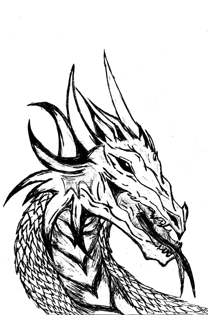 Kentucky strong clipart black and white svg transparent stock Free Dragon Drawings Black And White, Download Free Clip Art, Free ... svg transparent stock