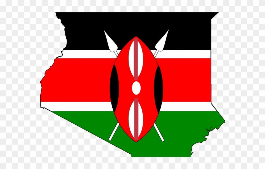 Kenya flag clipart jpg transparent library Map Flag Clipart Music - Transparent Kenya Flag Png (#170469 ... jpg transparent library