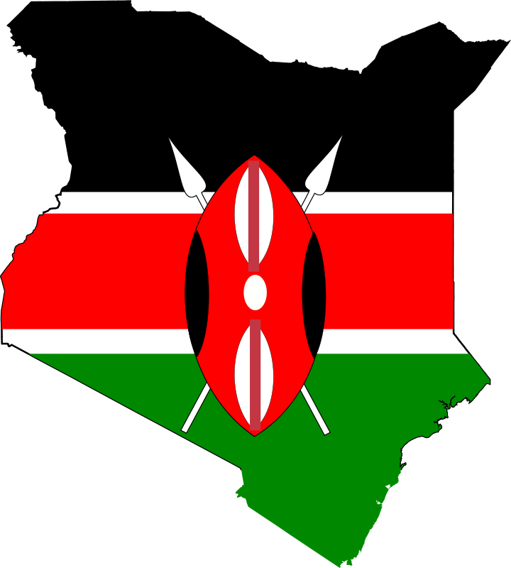 Kenya flag clipart freeuse library Free Clipart: Kenya map flag | j_iglar freeuse library