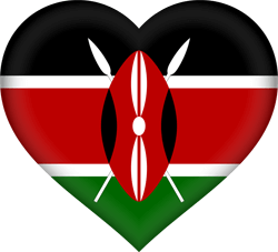 Kenya flag clipart vector transparent Kenya flag clipart - country flags vector transparent
