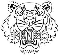 Kenzo clipart graphic freeuse download 8 Best Kenzo images in 2015 | Kenzo, Eye illustration, Tiger images graphic freeuse download