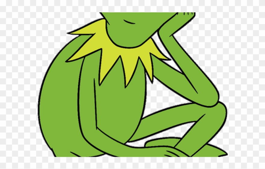Kermit frog clipart download Green Frog Clipart Muppets - Kermit The Frog Coloring Pages - Png ... download