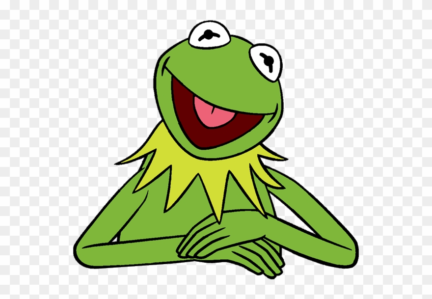 Kermit frog clipart svg library Kermit The Frog Clipart - Kermit The Frog Art - Png Download ... svg library