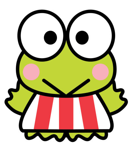 Keropi cliparts picture freeuse download Keroppi – Sanrio Society picture freeuse download