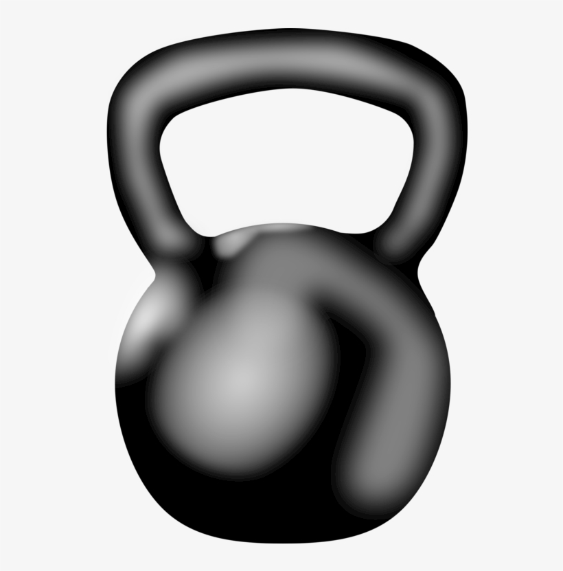 Kettlebell clipart free image black and white Kettlebell Physical Fitness Crossfit Exercise Weight - Kettlebell ... image black and white