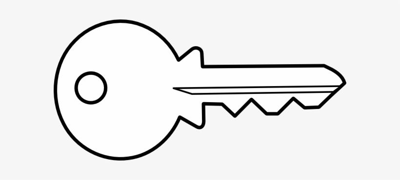 Key clipart outline clip art freeuse Key Clipart Outline Png - Key White Transparent - Free Transparent ... clip art freeuse