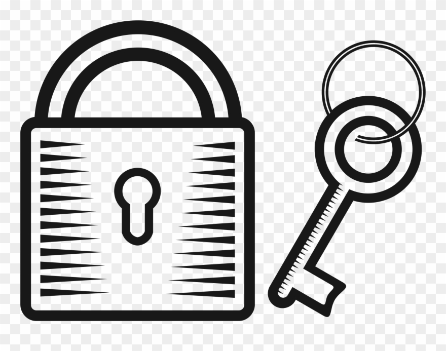 Key in lock clipart image transparent stock Big Image - Key And Lock Drawing Clipart (#340598) - PinClipart image transparent stock