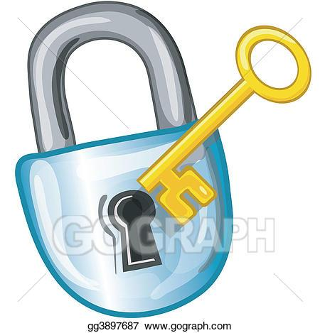 Key in lock clipart vector free library Key lock clipart » Clipart Portal vector free library