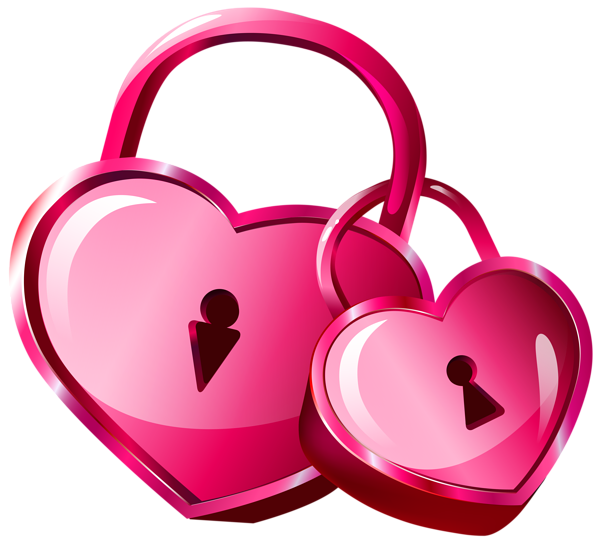 Key to my heart clipart clipart free download Heart Locks Transparent PNG Clip Art Image | валентинки | Pinterest ... clipart free download
