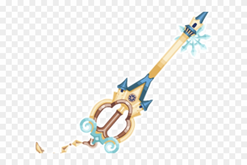 Keyblade clipart svg transparent library Kingdom Hearts Clipart Keyblade - Illustration, HD Png Download ... svg transparent library