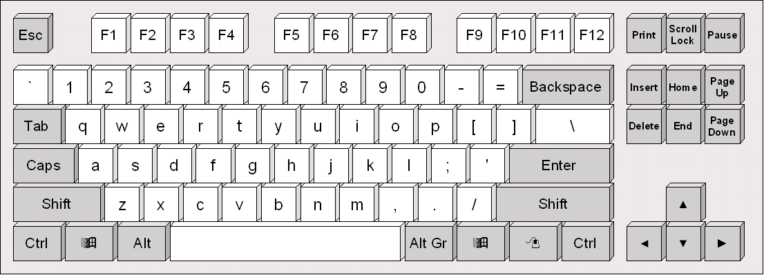 Keyboard computer clipart svg black and white library mouse worksheet twisty noodle. graphic advertising for break time ... svg black and white library