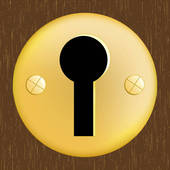 Keyhole clipart free vector library Free keyhole clipart » Clipart Station vector library
