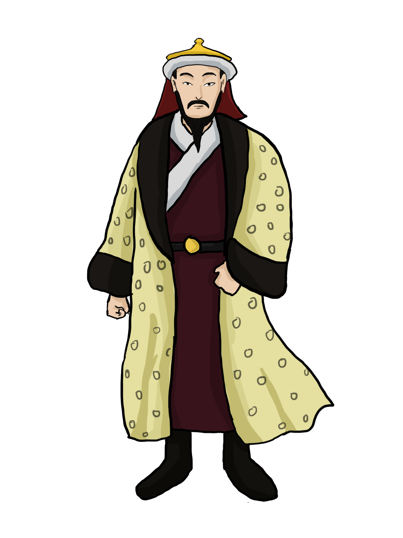 Khan clipart svg freeuse Genghis Khan was the founder | Clipart Panda - Free Clipart Images svg freeuse