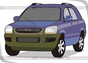 Kia clipart graphic download KIA - vector clipart graphic download