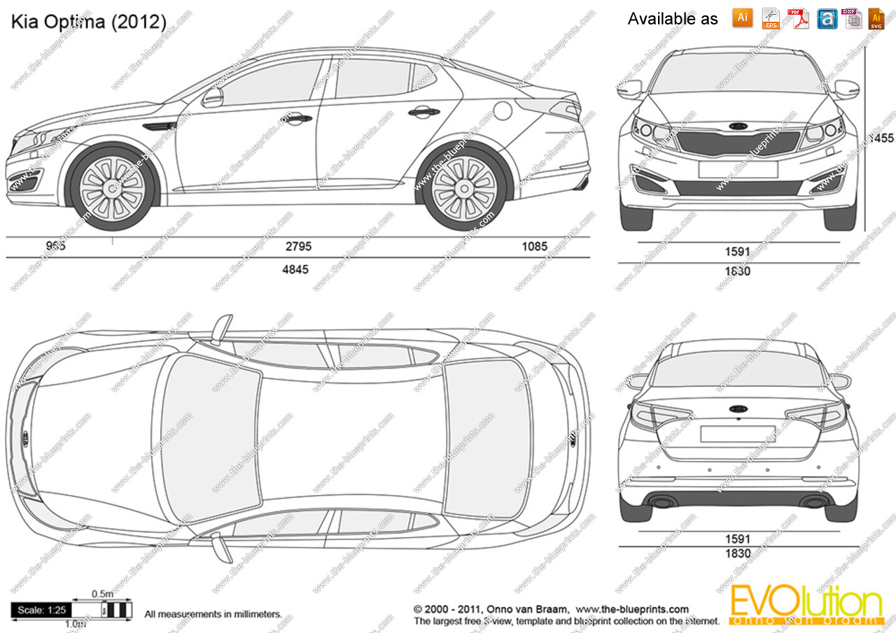 Kia optima clipart picture freeuse Kia Optima vector drawing picture freeuse
