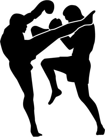 Kick boxing clipart clip library Boxing, Illustration, Graphics, Silhouette, Line png clipart free ... clip library