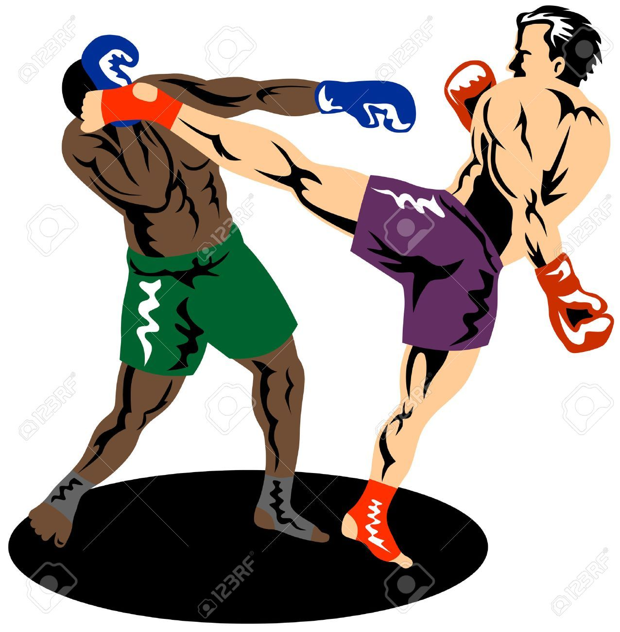 Kick boxing clipart clipart library library Clipart kick boxing 8 » Clipart Portal clipart library library