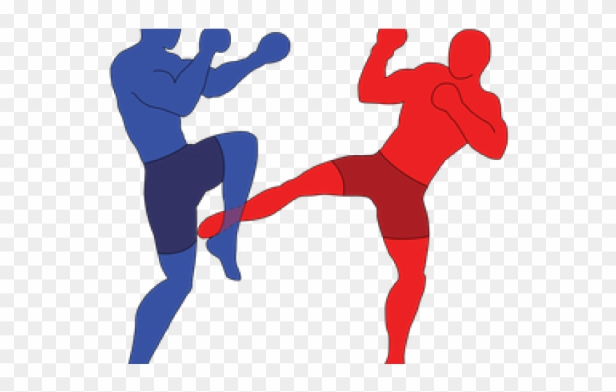 Kick boxing clipart freeuse stock Boxer Clipart Kick Boxing - Low Kick Png Transparent Png (#3411866 ... freeuse stock