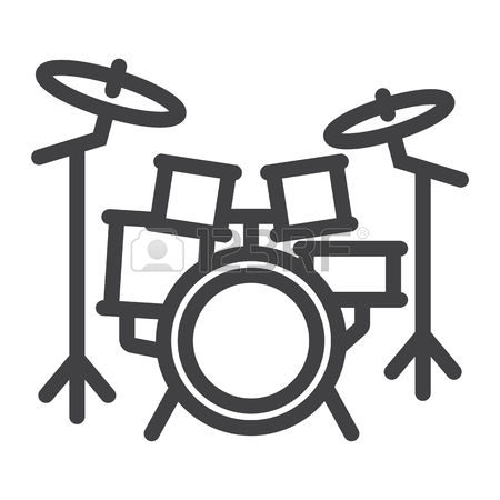 Kick drum clipart black and white clipart freeuse download Drums Clipart Black And White | Free download best Drums Clipart ... clipart freeuse download