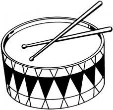 Kick drum clipart black and white vector free stock Free Drum Cliparts, Download Free Clip Art, Free Clip Art on Clipart ... vector free stock