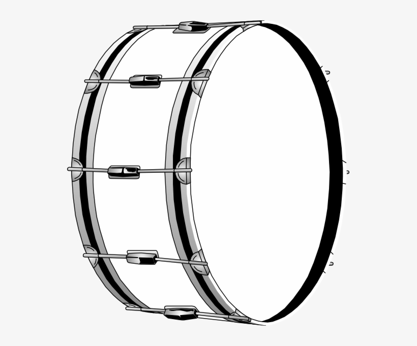 Kick drum clipart black and white transparent library Jpg Black And White Stock Bass Drums Clip Art Drum - Bombo Dibujo ... transparent library