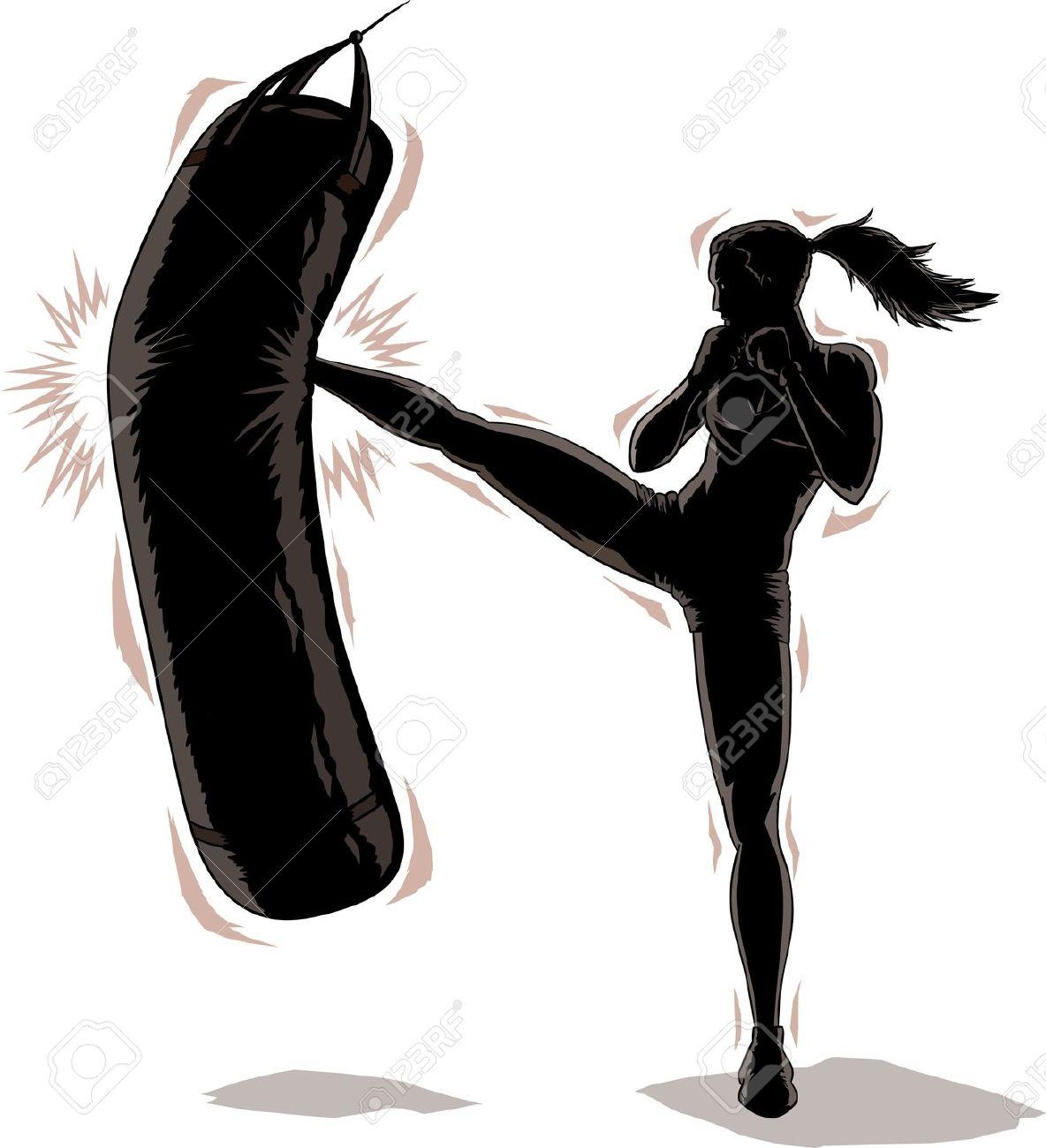 Kickboxer clipart image transparent Kickboxer clipart | Clipart Panda - Free Clipart Images image transparent