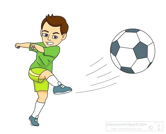 Soccer ball player clipart clip art library download Soccer Clipart Images Player Kicking The Ball – Plantt clip art library download