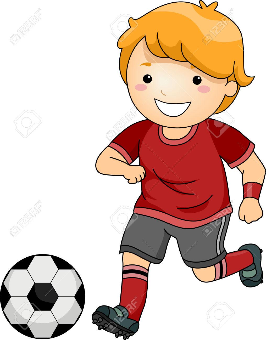 Kicking ball clipart clipart free Boy Kicking Soccer Ball Clip Art – Clipart Download - Free Clipart clipart free