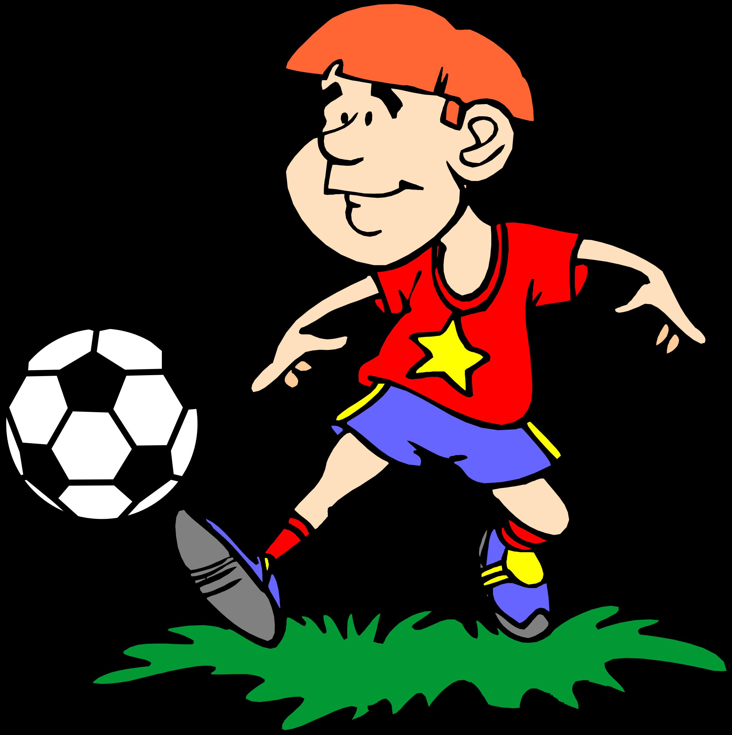 Kicking ball clipart vector library download Kicking a ball clipart clipart images gallery for free download ... vector library download