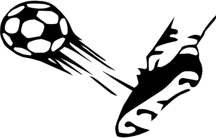 Kicking soccer ball clipart image royalty free Kicking Soccer Ball Clipart | Free download best Kicking Soccer Ball ... image royalty free