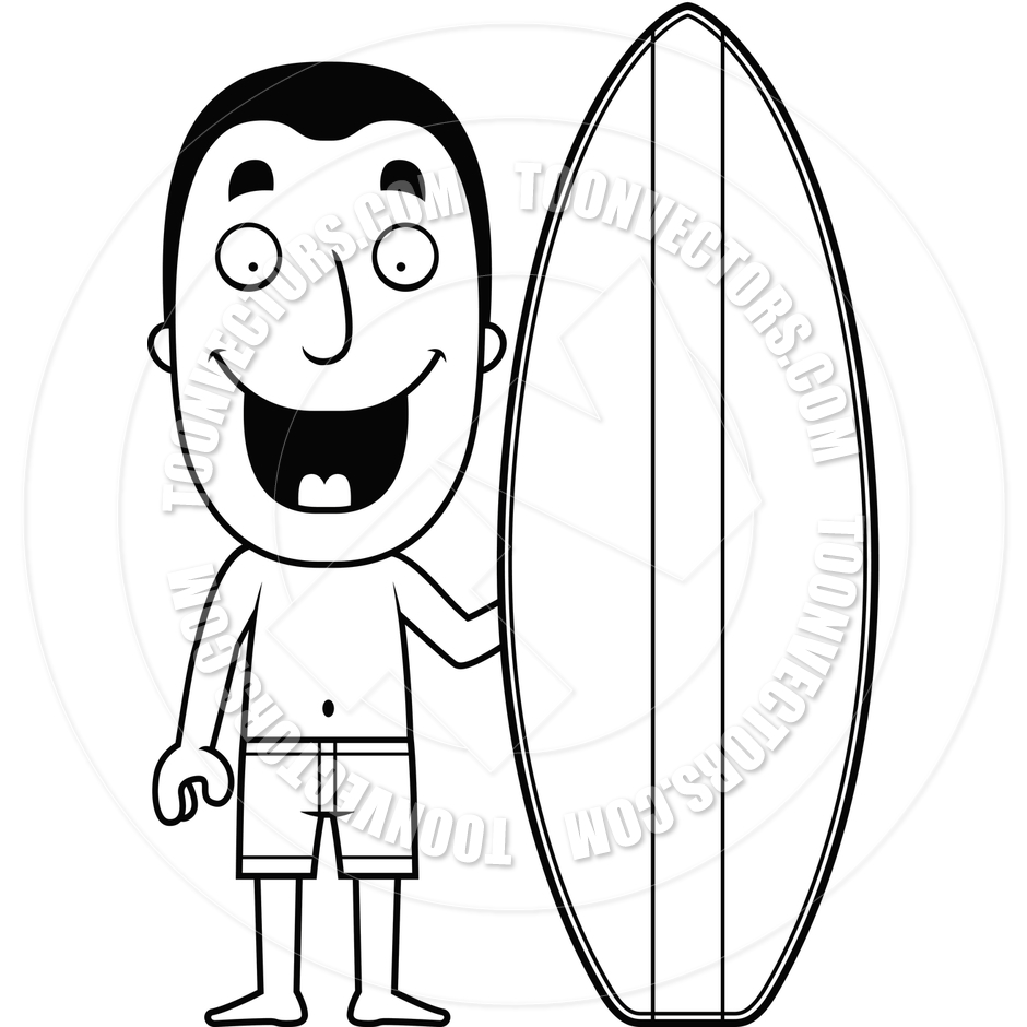 Kid and surfboard black and white clipart banner freeuse library Surfboard Clipart Black And White | Free download best Surfboard ... banner freeuse library