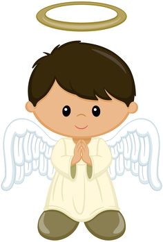 Kid angel clipart png library 860 Best Angel Printables images in 2018 | Angel, Printables, Angel ... png library