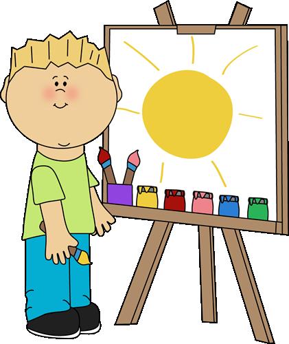 Kid artist clipart download Kids Painting Clipart   Free download best Kids Painting Clipart on ... download
