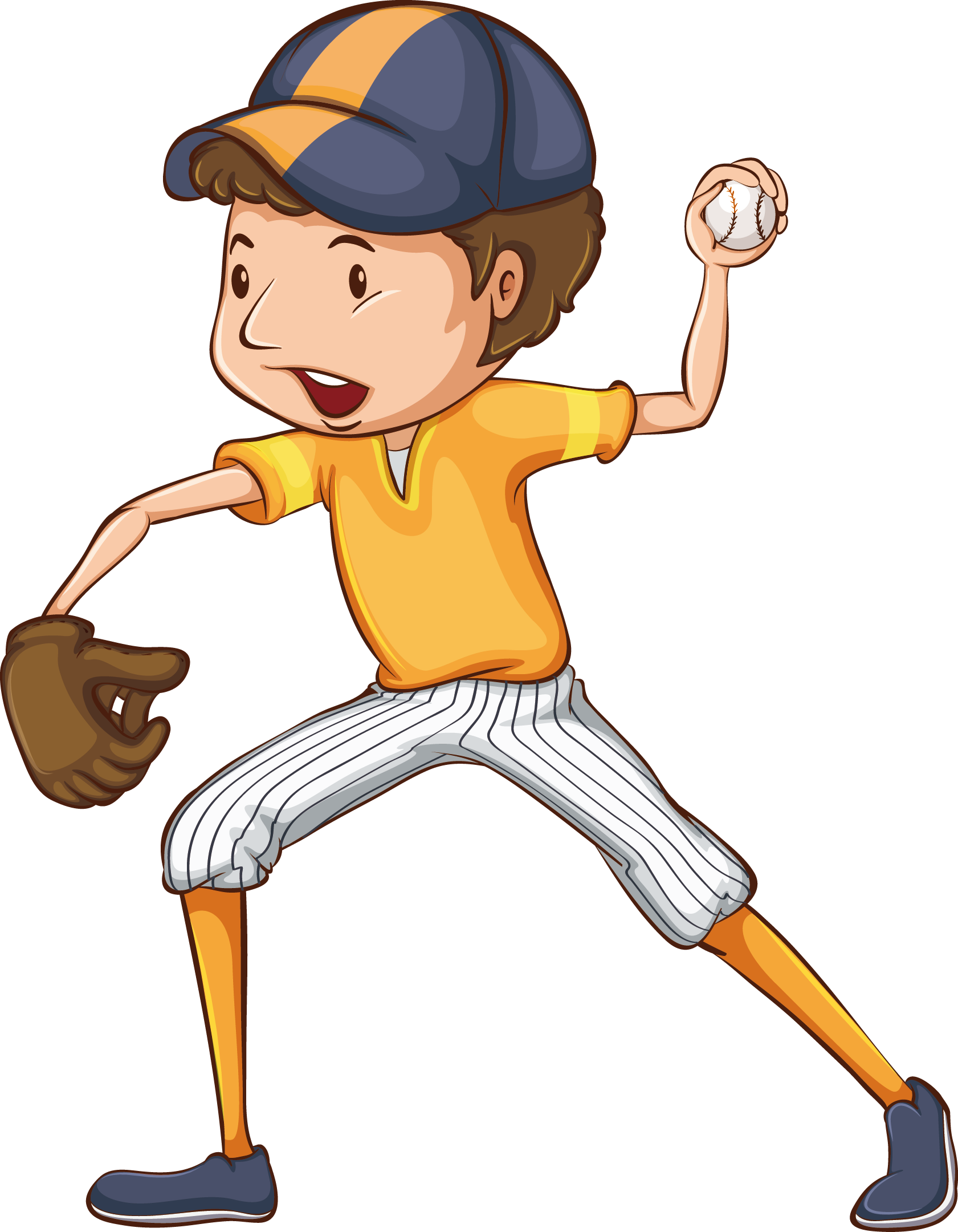 Kid baseball pitcher clipart graphic black and white stock Baseball Drawing Player Illustration - Youth Baseball Open 1681*2160 ... graphic black and white stock