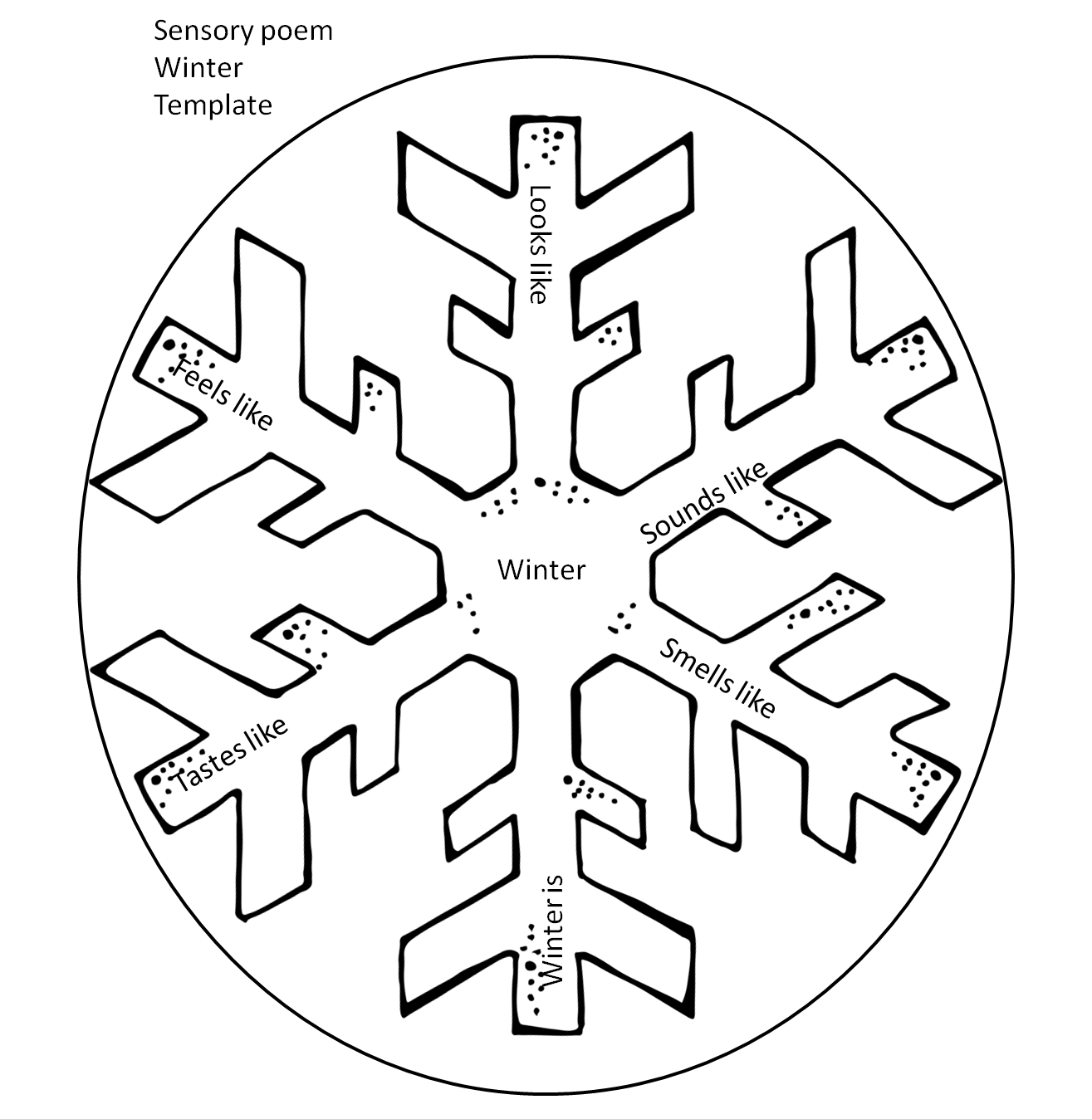 Kid catching snowflake on tongue clipart black and white transparent Poetry Unit Updated! | First Grade Wow | Bloglovin' transparent