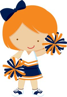 Kid cheerleader clipart jpg library library 101 Best Clip Art - Sports & Cheer images in 2016 | Clip art ... jpg library library