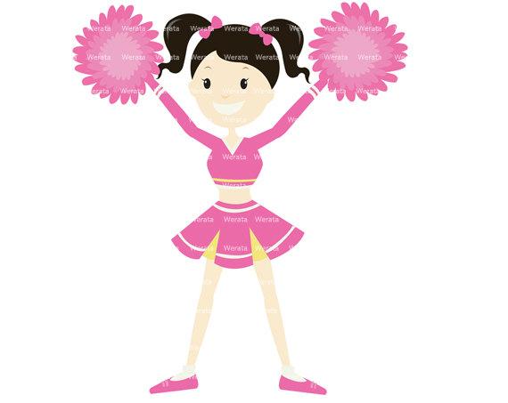 Kid cheerleader clipart image black and white Free Cheerleader Cliparts, Download Free Clip Art, Free Clip Art on ... image black and white