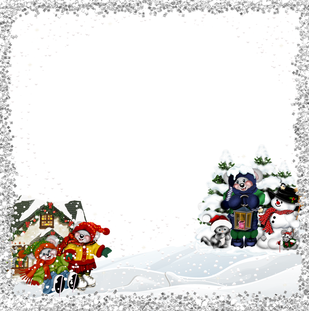 Kid christmas clipart png transparent library Kids Christmas Frame | Gallery Yopriceville - High-Quality Images ... png transparent library