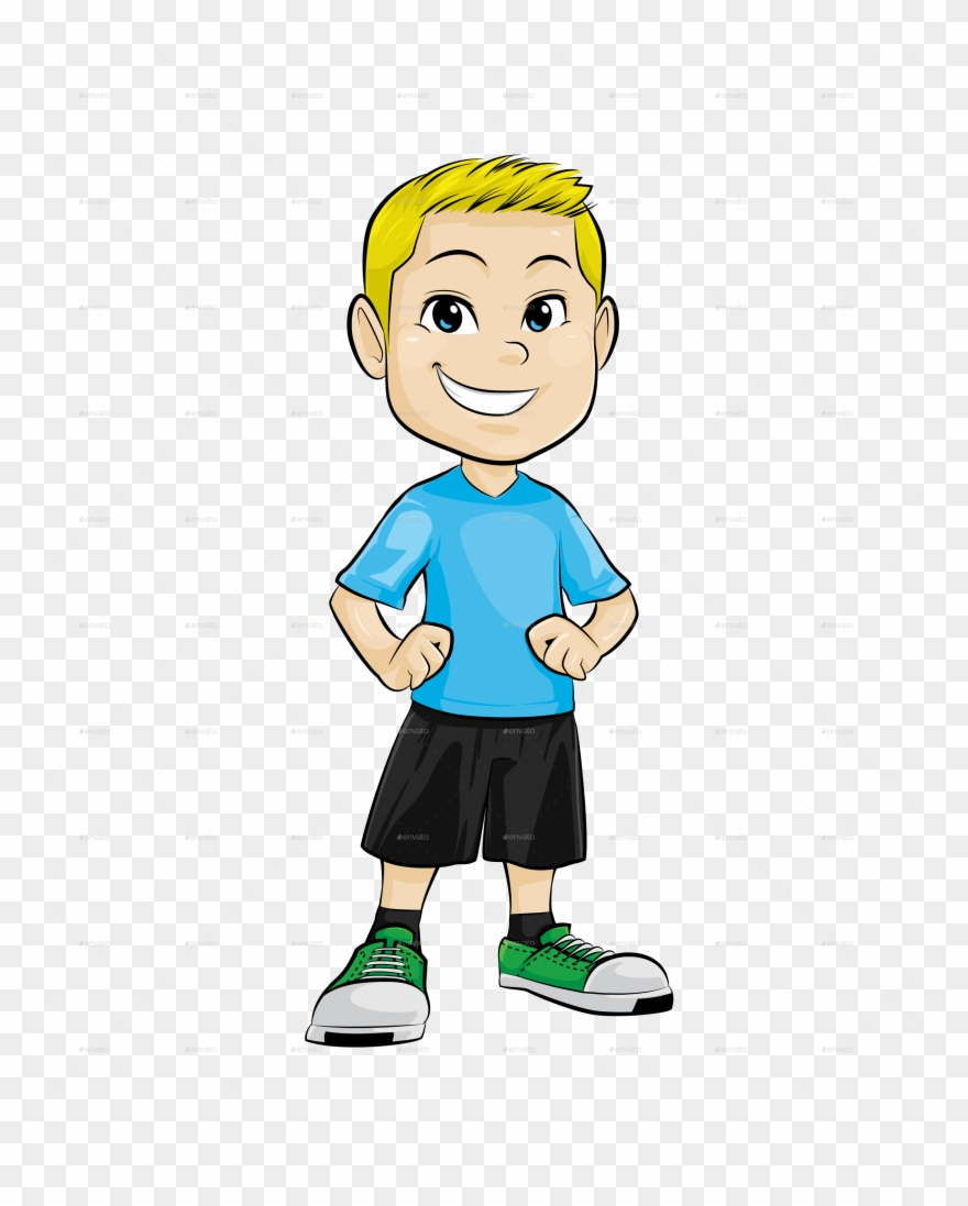 Kid clipart transparent banner black and white stock Png File Mart Library - Transparent Background Boy Clipart (#296792 ... banner black and white stock