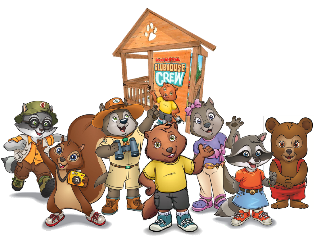Kid club house clipart picture download great wolf lodge clubhouse crew - Google Search | Sanctuary Kids ... picture download
