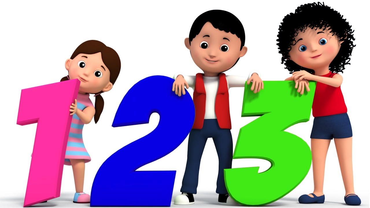 Kids counting clipart image freeuse library the numbers song | counting song | 123 nursery rhymes | learn numbers | 3d  rhymes | kids tv image freeuse library