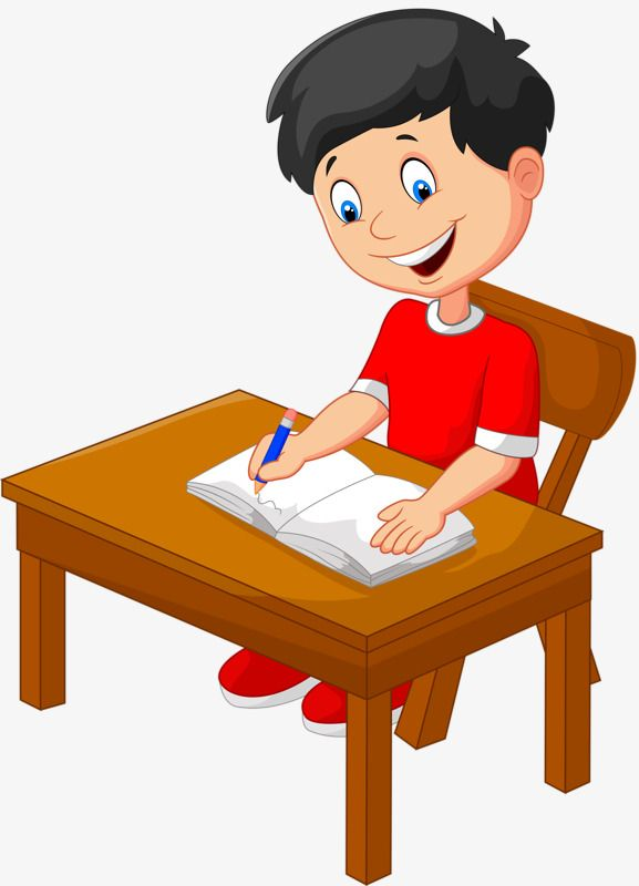 Kid doing school work at table clipart image library Serious Homework Kids, Kids Clipart, Homework, Child PNG Transparent ... image library