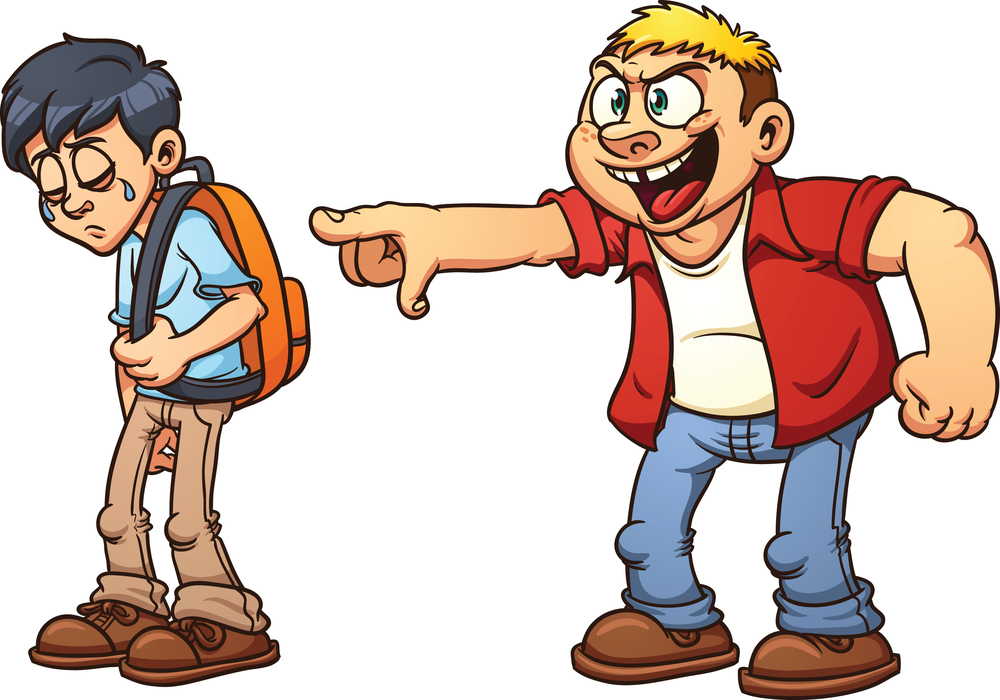 Kid getting bullied clipart jpg transparent download Free Bully Cartoon Pictures, Download Free Clip Art, Free Clip Art ... jpg transparent download