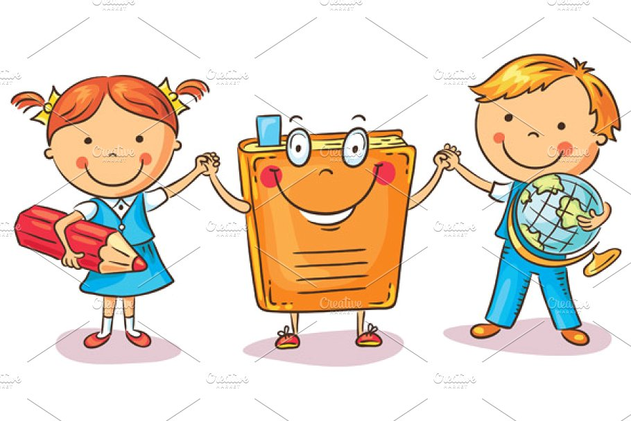 Kid has large hand holding out clipart clip library download Children Holding Hands with a Book clip library download