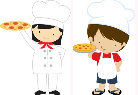 Kid making pizza clipart clip art freeuse stock Pizza in the Making Outing – Pre-Junior B 2016-17 clip art freeuse stock
