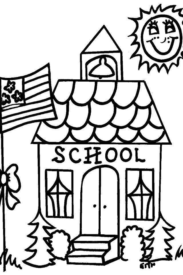 Kid school house clipart black and white clip library download Free School House Pictures, Download Free Clip Art, Free Clip Art on ... clip library download