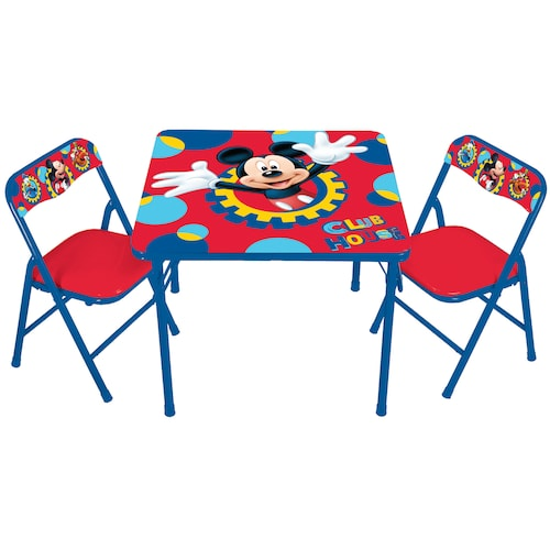 Kid set table clipart jpg royalty free library Disney Mickey Mouse & Friends Erasable Activity Table & Chair Set by Kids  Only jpg royalty free library